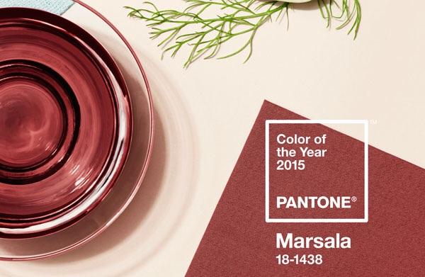 Årets pantonefärg är Marsala