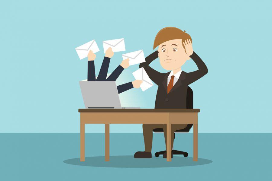 Är vi trötta på att få mail? Är det postala utskick som gäller nu?