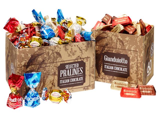 Nya chokladaskar för Sweet Dream