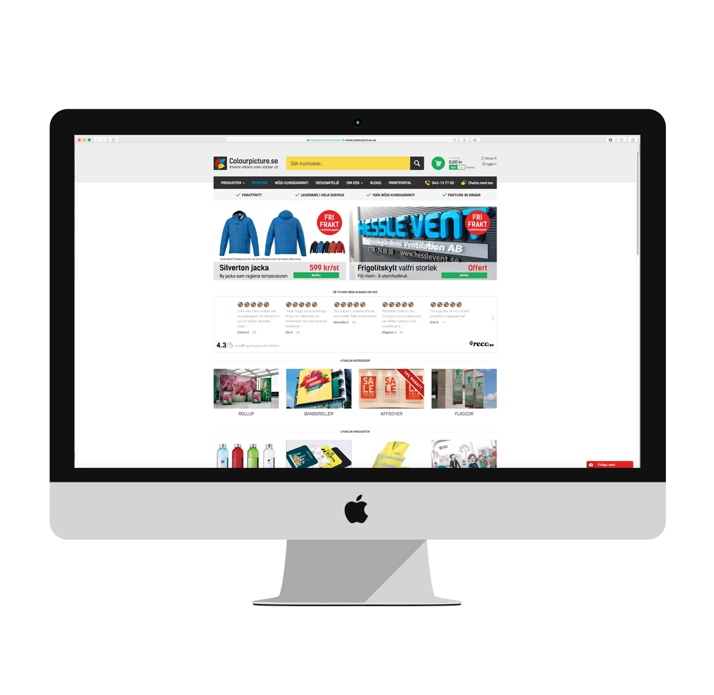 Beställ dina trycksaker enkelt online
